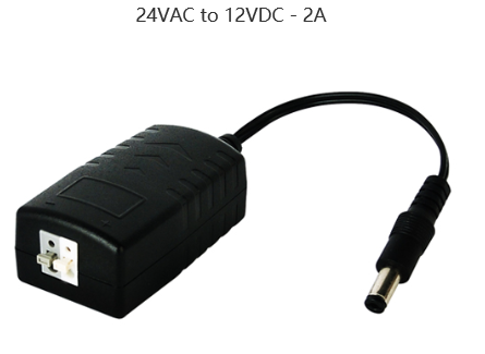 24VAC to 12VDC - 2A