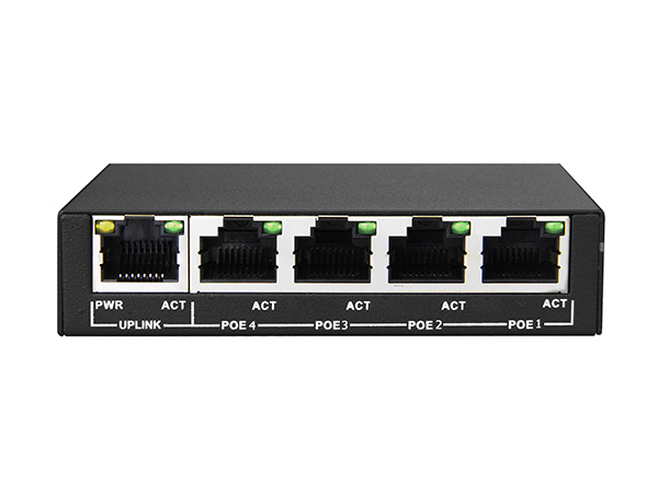 4+1 1000M Unmanaged PoE Switch